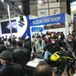 東京モーターサイクルショー④列の先には。