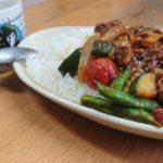 「西東京市やすだ農園」夏野菜カレー
